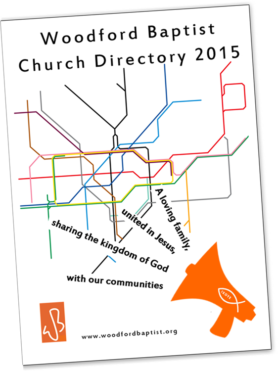 church directory booklet cover
